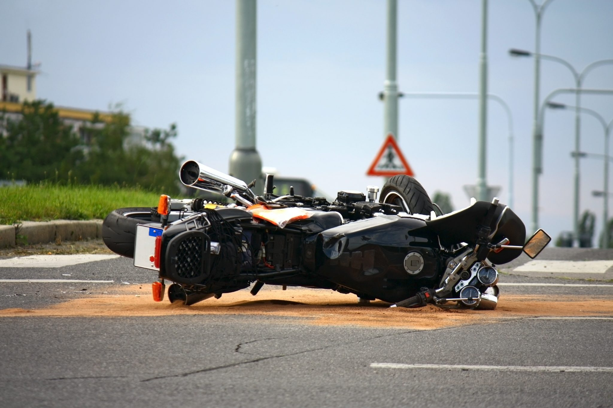 Wypadek motocyklisty – odszkodowania powypadkowe